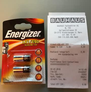 Batterien Alkali E90