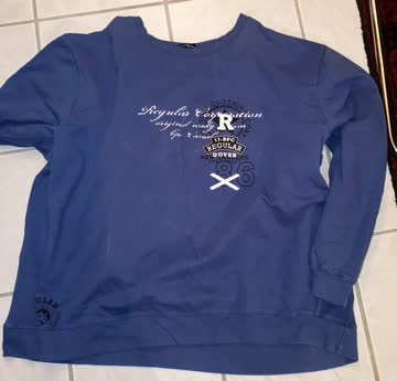 Pullover bpc, bläulich, Grösse 72/74 (5XL)