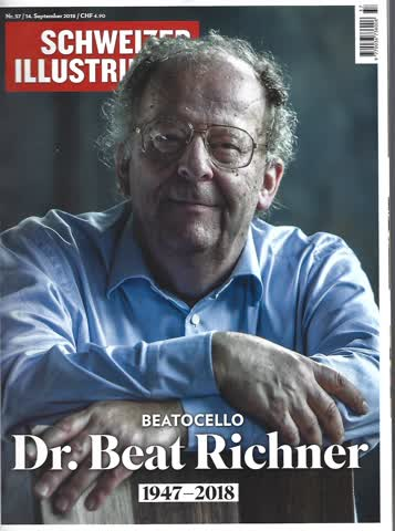 Magazin - Schweizer Illustrierte Nr. 37 / 14. September 2018