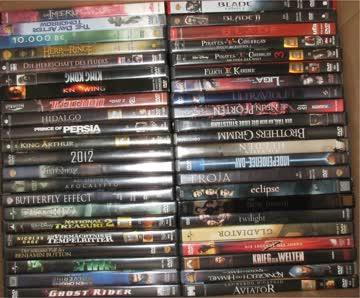 11 Sammlung 176 DVD Paket 3&4 Horror Action Krimi Fantasy