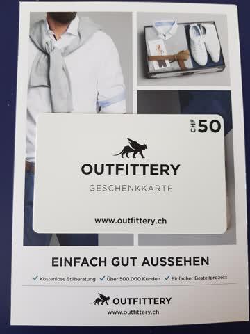 Outfittery - Geschenkkarte