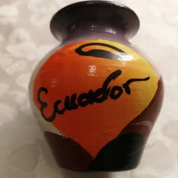Ziervase aus Ecuador