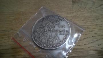 Grosse Münze Medaille Rhy Bra 1986 Briefmarkenausstellung