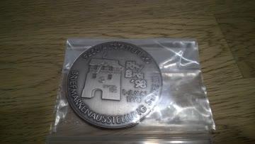 Grosse Münze Medaille Rhy Bra 1998 Briefmarkenausstellung