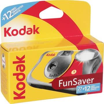 NEU: 2x Kodak Fun Saver Einwegkamera 27+12