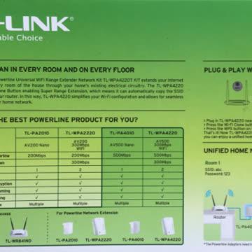 Powerline 3-er Set TP-LINK