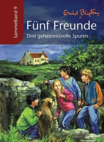 Fünf Freunde - Drei geheimnisvolle Spuren: Sammelband 9