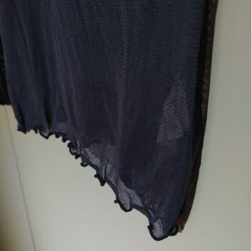 Langarmshirt mit Rundhals aus Bio-Seide