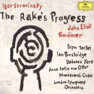 Peter Bronder, et al., John Eliot Gardiner, London Symphony Orchestra, Monteverdi Choir Ian Bostridge - Igor Stravinsky: The Rake's Progress (Gesamtaufnahme)