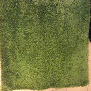 "Teppich ""Hampen"" grün"