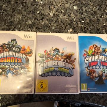 Skylanders 3 Portale mit CD und Figuren