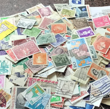 Briefmarken 200stck