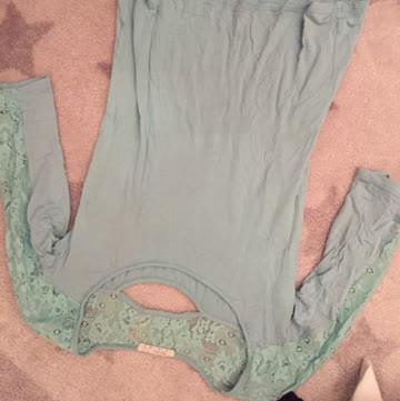Bershka shirt mint s