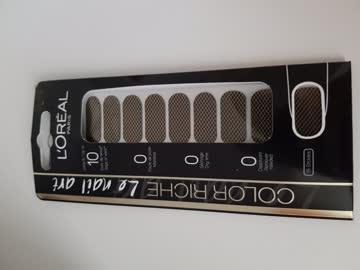 L'Oreal nail art sticker