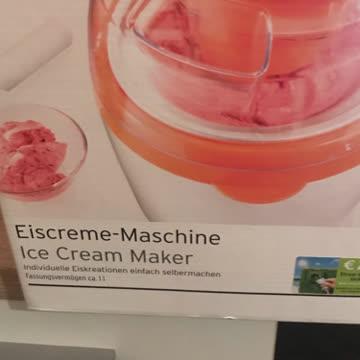 Eiscreme Maschine