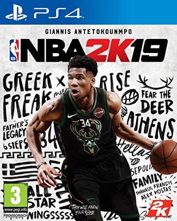 NBA 2K19 Standard Edition [PlayStation 4] [AT-PEGI]