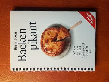 "Betty Bossi ""Backen pikant"" (Wähen, Pasteten, Strudel, etc.)"