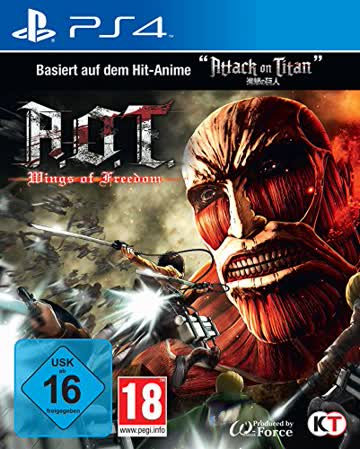 AoT - Wings of Freedom (based on Attack on Titan) - [PlayStation 4]