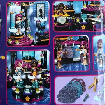 Lego Friends Grosse Konzertbühne