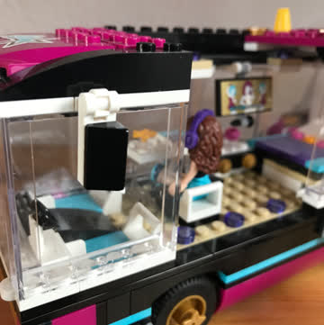 Lego Friends Konzert Bus