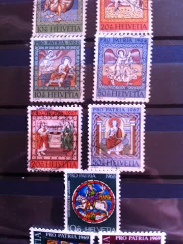 1962-1971 Pro Patria 16 verschiedene Marken