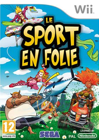 Third Party - Le sport en folie Occasion [ Nintendo WII ] - 5055277001163