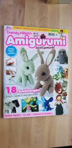 Amigurumi Einhorn häkeln | Trendgarne.de | Wolle ... | 480x233