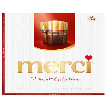NEU/OVP: MERCI Finest Selection Chocolates / Schokolade