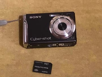 Sony Cyber-Shot Digitalkamera mit Zubehör