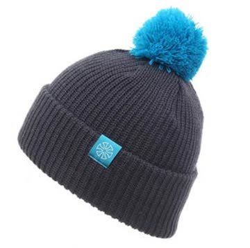 SN.SU.SK Unisex Winter Beanie - grey/blue