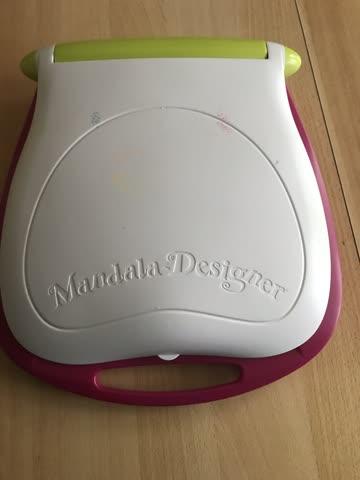 Mandala Designer mit Batteriebetrieb