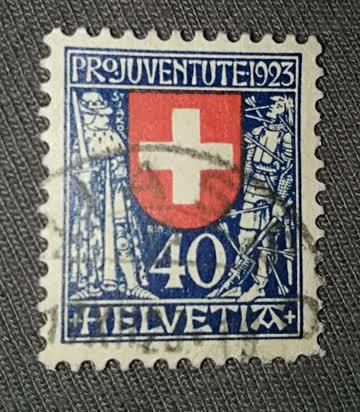 PRO Juventute 1923 - Coat of Arms
