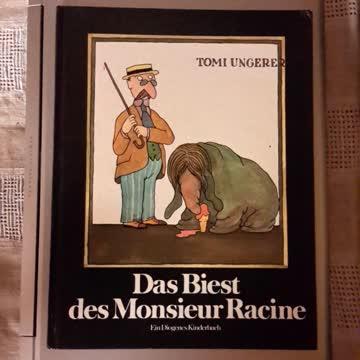 Das Biest des Monsieur Racine von Tomi Ungerer