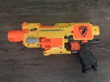 3 Nerf Pistolen