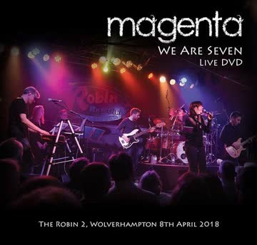 Magenta : We Are Seven Live 2018 2DVD