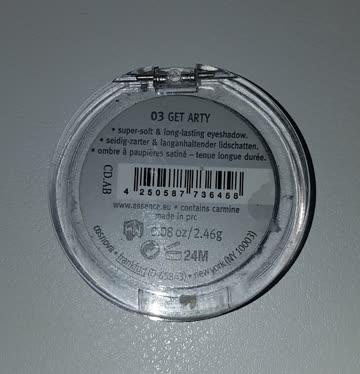 Silbergrauer Lidschatten von essence