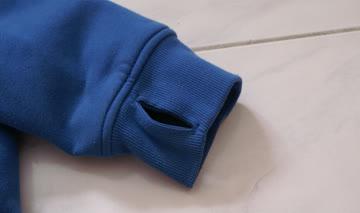 DC Jacke, sehr bequem und flauschig, hohe Qualität