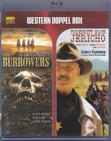 The Burrowers / Todesritt nach Jericho - (Western Doppel Box)