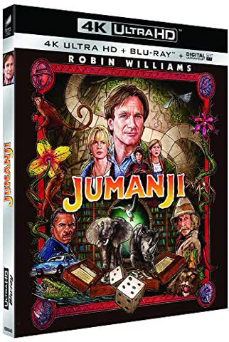 Jumanji [4K Ultra HD + Blu-ray]