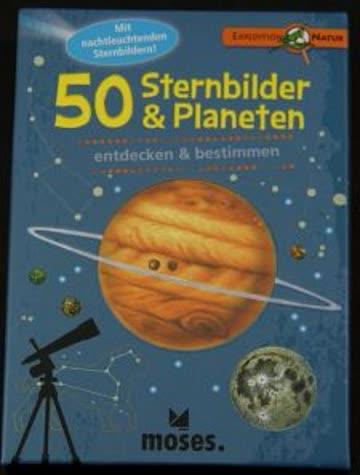 50 Sternbilder und Planeten - Kartenspiel