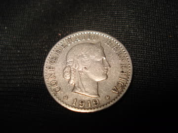 1 20 Rappenstück 1919
