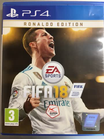 Fifa 18 Ronaldo Edition PS 4