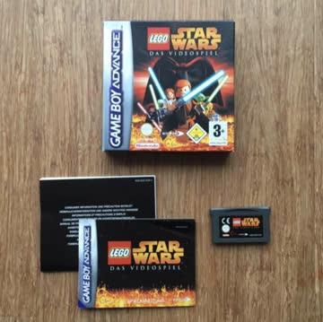 Nintendo Gameboy Advance Game: Star Wars I