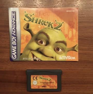 Nintendo Gameboy Advance Game: Shrek 2