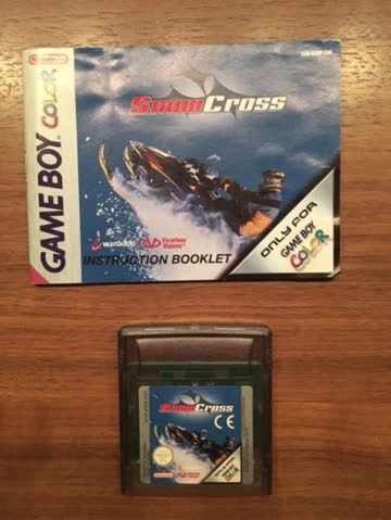 Gameboy Color Game: SnowCross