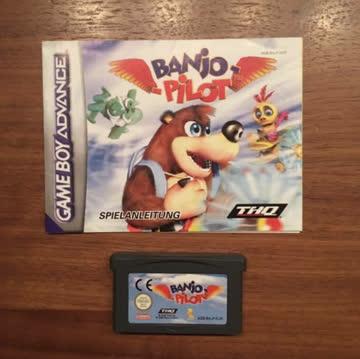 Nintendo Gameboy Advance-Game: Banjo Pilot