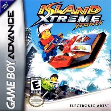 Nintendo Gameboy Advance Game: Lego Island Extreme Stunts