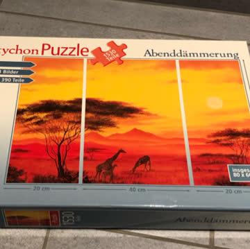Puzzle Abenddämmerung