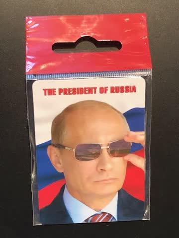 Magnet Wladimir Putin - Russischer Präsident