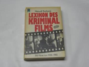 Lexikon des Kriminalfilms